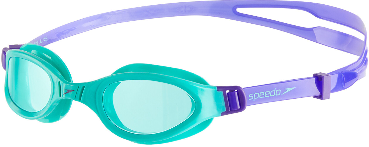 58a09e07de05e ▷ speedo Futura Plus Goggles Kinder violet/spearmint online bei ...